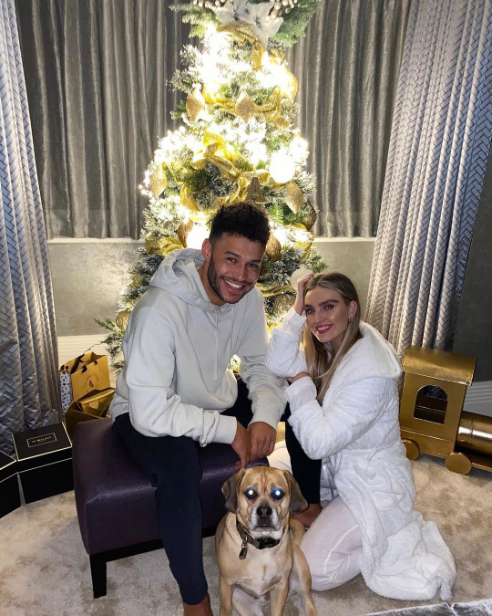 Perrie has revealed she will say 'yes' if Alex proposes (Picture: Perrie Edwards/Instagram)