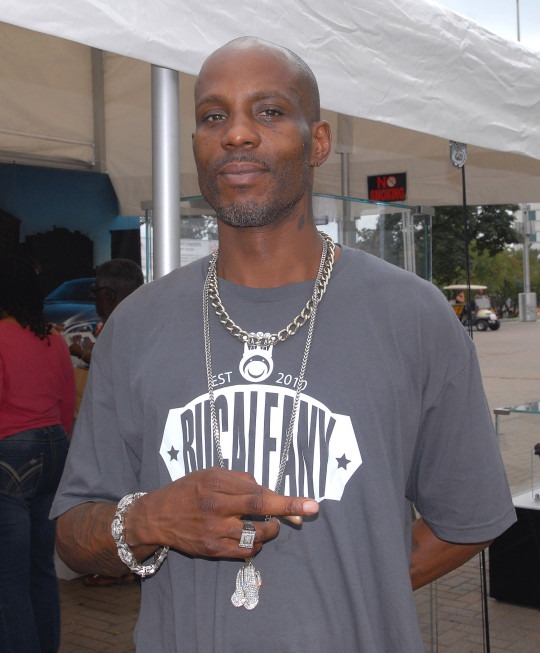 DMX poses for a photo while he attends day 3 of the Detroit Jazz Festival on September 1, 2013 in Detroit, Michigan. (Photo by Paul Warner/Getty Images)