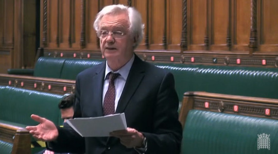 David Davis used a special freedom of speech power to make the claims in the House of Commons - Conservative MP David Davis has used parliamentary privilege to criticise the Scottish government's handling of allegations against Alex Salmond.