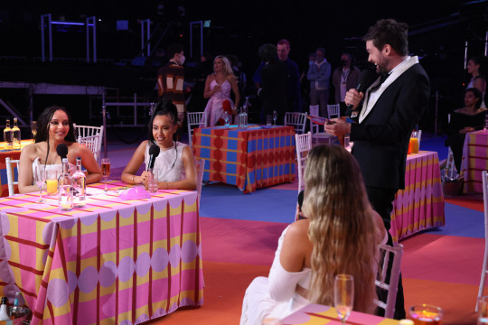 Little Mix and Jack Whitehall