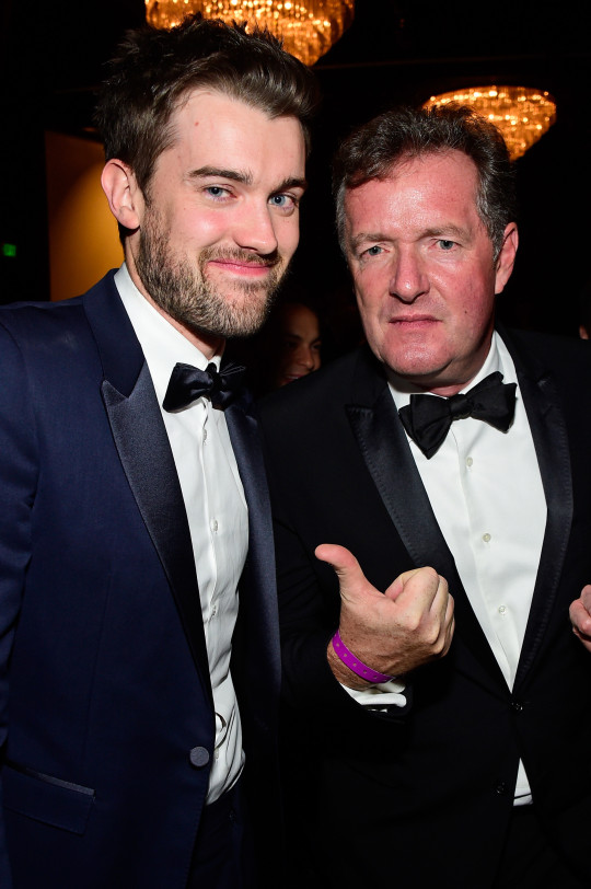 Jack Whitehall and Piers Morgan