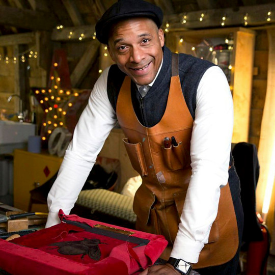 Jay Blades is the presenter of The Repair Shop