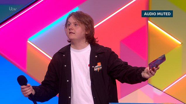 Lewis Capaldi's sweary speech gets muted at the Brits