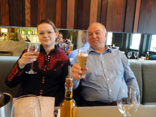Sergei Skripal and Yulia Skripal Former Russian spy critically ill after suspected poisoning, Salisbury, UK - 08 Mar 2018 Photos are from an open social media site Rex Features Ltd. do not claim any Copyright or License of the attached image Mandatory Credit: Photo by REX/Shutterstock (9452103m)