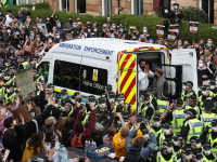 Men detained by Home Office released after Glasgow protest