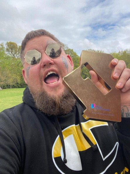 Rag'n'Bone Man claimed a second number one album with Life By Misadventure