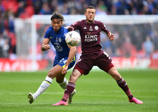 Thomas Tuchel claims Reece James' position change was to nullify the threat of Jamie Vardy in Chelsea's FA Cup final against Leicester City