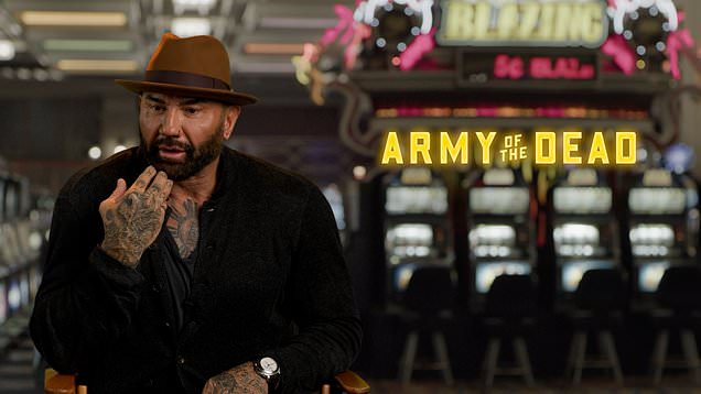 Dave Bautista on why he changed key scene in Zack Snyder's Army of the Dead script