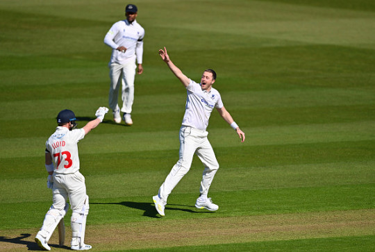 Ollie Robinson could also make his Test debut in the series against New Zealand