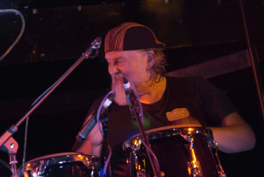 Si King drummer in the band Little Moscow
