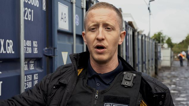 Police find 200 shipping containers with drugs and guns inside