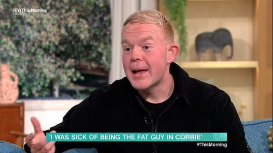 Coronation Street actor Colson Smith on This Morning