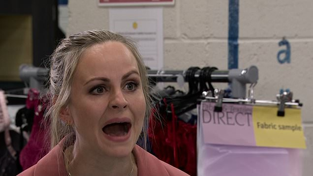 Corrie: Carla lashes out at Sarah