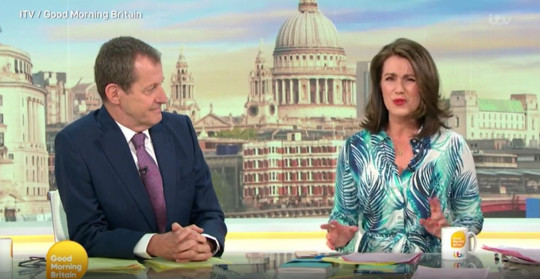 GMB: Alastair Campbell orders Susanna Reid 'don't get defensive' as they clash again