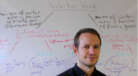 Dr. Alex Wood has been studying the effects of the gig economy (Alex Wood)