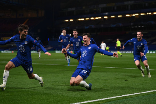 Mason Mount scored in Chelsea's Champions League victory over Real Madrid