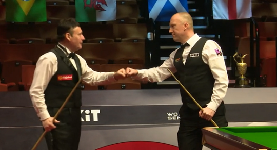 Jimmy White and David Lilley