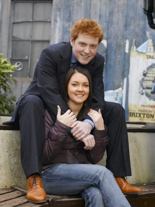 Charlie Clements and Lacey Turner