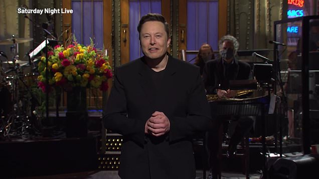 Elon Musk jokes about his son's name on SNL