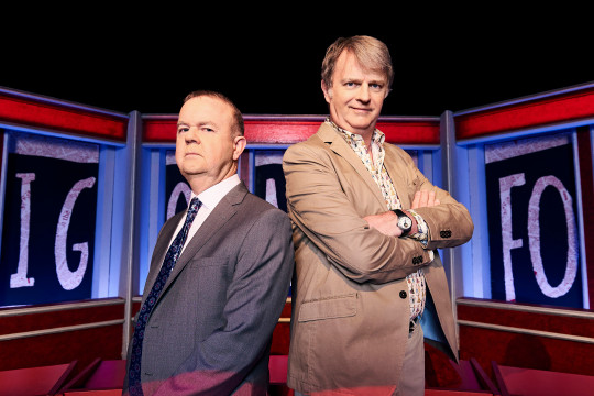 Ian Hislop and Paul Merton from series 60 Have I Got News For You