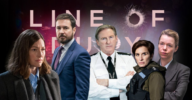 Line of Duty composite image