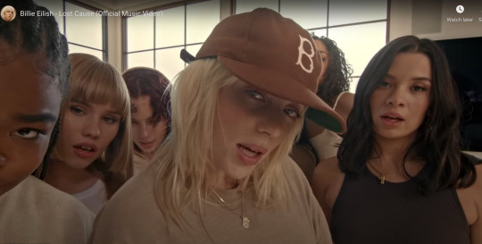 Billie Eilish creates her own Hype House in Lost Cause music video