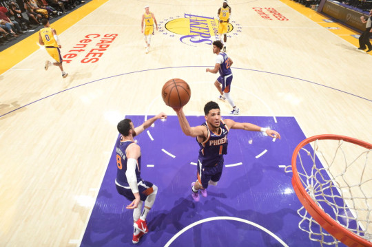 Devin Booker 2021 NBA Playoffs - Phoenix Suns v Los Angeles Lakers