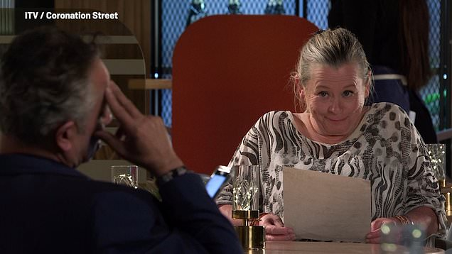 Corrie: Dev and Bernie go out for brunch