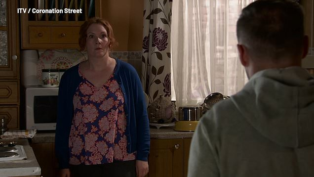 Corrie: Fiz refuses to let Tyrone see the kids