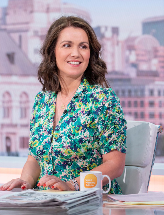 Channel bosses want to make Susanna Reid the main presenter of Good Morning Britain