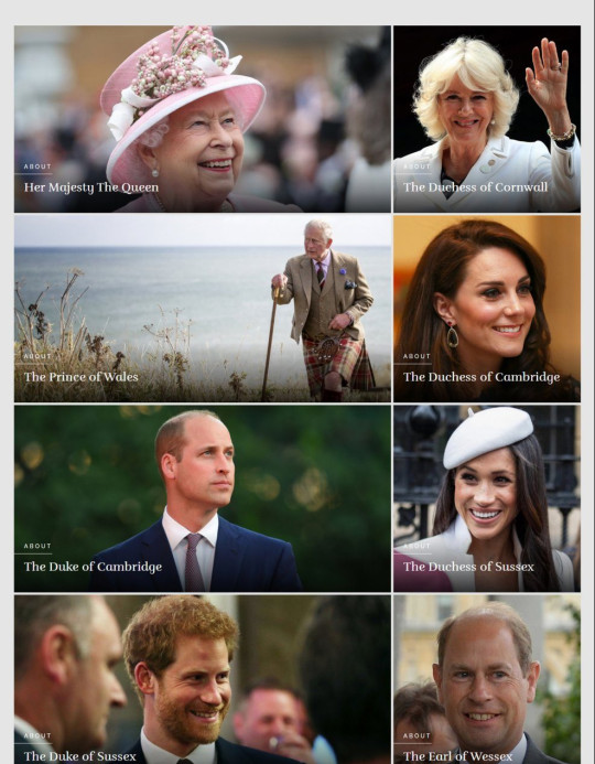 Meghan and Harry were previously immediately below William and Kate
