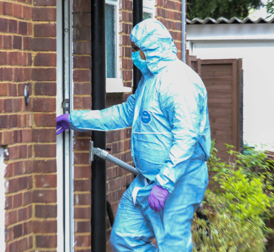 Police were called at 15:10hrs on Saturday, 5 June to concerns for the welfare of a woman at a residential property in Barton Close, Bexleyheath. Officers attended along with London Ambulance Service. An 89-year-old woman was pronounced dead at the scene. Her next of kin has been informed. A post-mortem examination will be scheduled in due course. A 57-year-old man was arrested at the scene on suspicion of murder. He was taken to hospital as a precaution for treatment to self-inflicted injuries. The suspect and deceased are believed to be known to each other. Detectives from the Met's Specialist Crime Command (Homicide) have been informed and a crime scene remains in place.