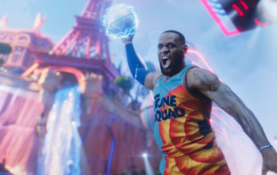 LeBron James in Space Jame movie