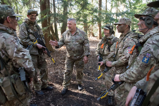 Cadets at Longmoor and Frimley Training Camp, Frimley, UK. Wednesday 10th of April 2019 Picture by Ben Stevens