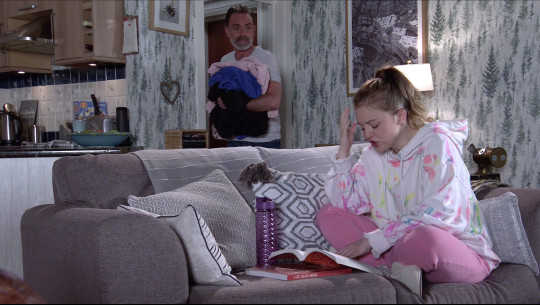 Billy and Summer in Corrie