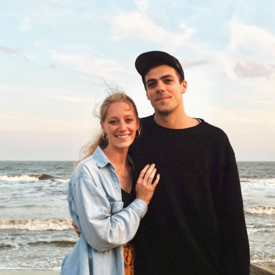 Ben and Malory met at church in 2015