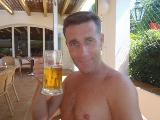 Mick in Menorca prior to his diagnosis in 2013. PA REAL LIFE/COLLECT