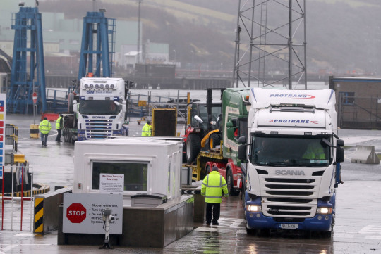 A trade war with the EU is looming after the government threatened to ferry British meat into Northern Ireland without any checks.