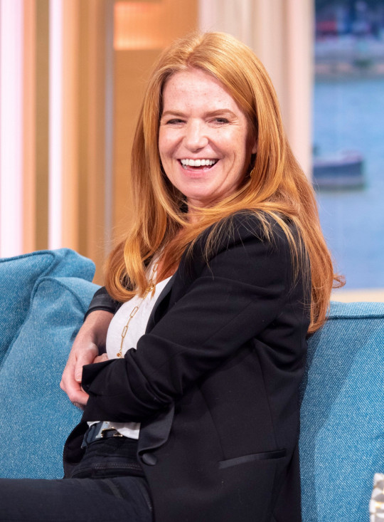 Editorial use only Mandatory Credit: Photo by Ken McKay/ITV/Shutterstock (10317521e) Patsy Palmer 'This Morning' TV show, London, UK - 20 Jun 2019 EXCLUSIVE: PATSY PALMER - THE EASTENDERS LEGEND IS BACK! ?Rickyyyyyyyyyyyyyy!? The EastEnders legend is back. Patsy Palmer joins us for her first TV interview since revealing she?s pausing her new life in Hollywood, to shake things up in Albert Square. She?ll be telling us how she feels about returning to acting after 5 years away, and her excitement about becoming Bianca again.