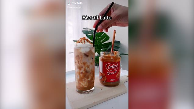 Iced Biscoff lattes are a thing