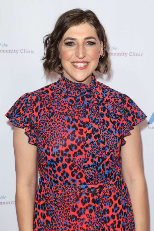 Mandatory Credit: Photo by Action Press/REX (10479670a) Actress Mayim Bialik arrives at the Saban Community Clinic's 43rd Annual Dinner Gala held at The Beverly Hilton Hotel Saban Community Clinic's 43rd Annual Dinner Gala, Los Angeles, USA - 18 Nov 2019