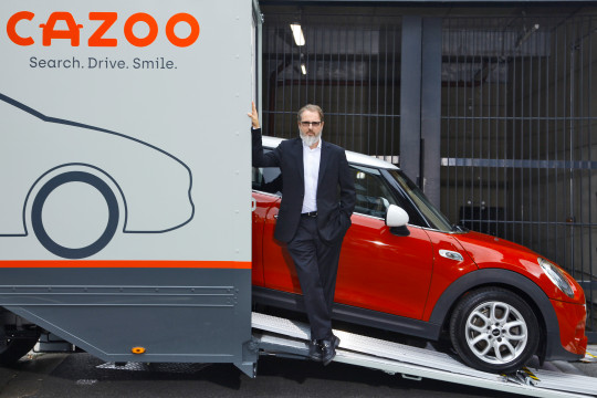 Alex Chesterman, CEO and Founder of Cazoo (Credits: Tom Stockill)