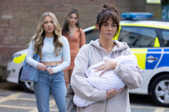 Mercedes, Cher and Peri in Hollyoaks