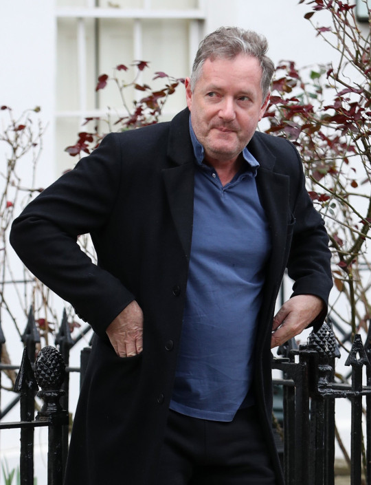 Mandatory Credit: Photo by Beretta/Sims/Shutterstock (11795207g) Piers Morgan Piers Morgan out and about, London, UK - 11 Mar 2021