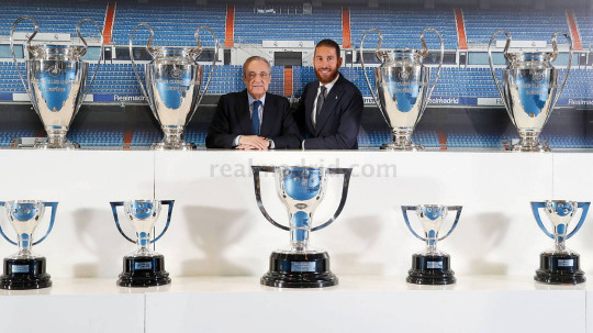 Sergio Ramos has made it clear he wanted to stay at Real Madrid