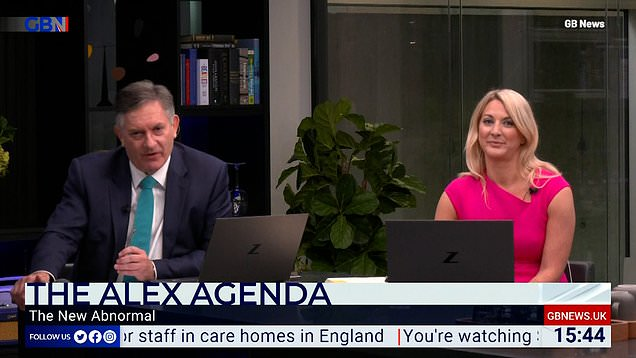 GB News presenter is not happy with being trolled over fake names