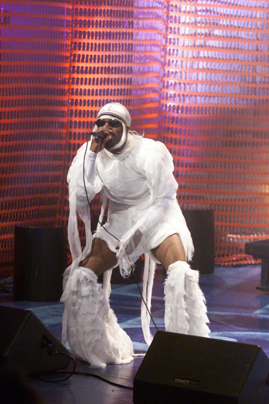 Andre 3000 performing on The Jay Leno Show