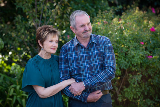 Sisan and Karl in Neighbours