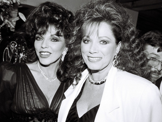 Dame Joan Collins and sister Jackie had a close-knit relationship