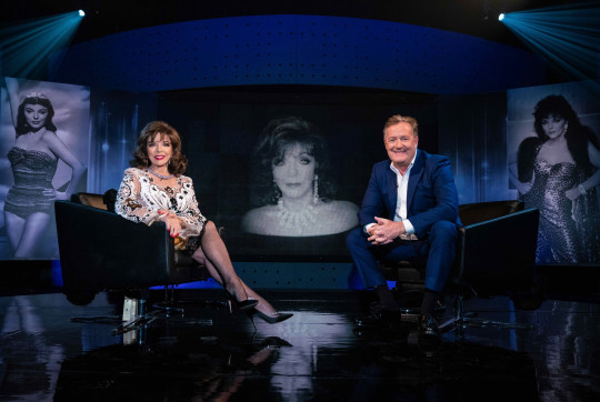 Dame Joan Collins on Piers Morgan's Life Stories